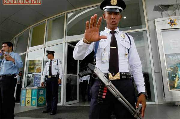 Armed Guard take Charge
